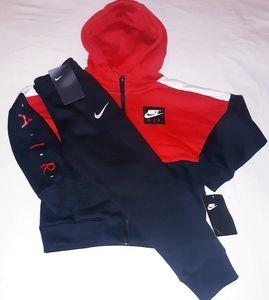 Nike Boys Toddler 2pc Hooded Jogger Set